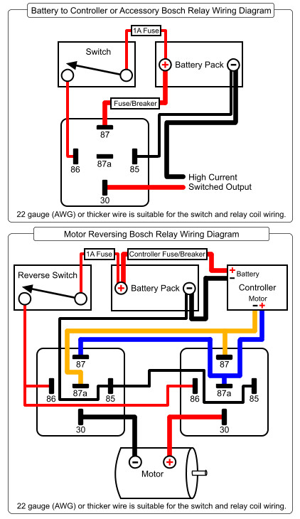 12077867 Relay Wiring Diagram Bosch Diagram Base Website