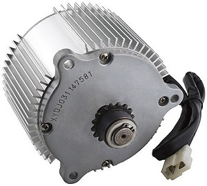 36 volt electric scooter and bicycle motors for Freewheel sprocket for electric motor