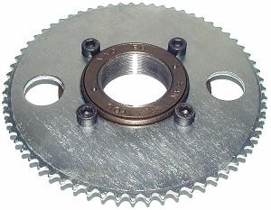 Freewheel threads endless sphere for Freewheel sprocket for electric motor