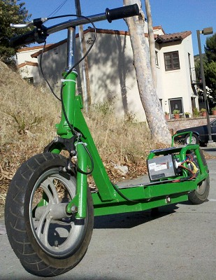 Custom Built Electric Scooter Bicycle 3 Wheeler And Go Kart Projects Electricscooterparts Com