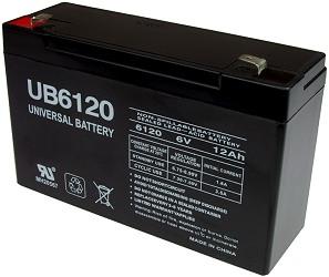 6 volt 12 amp hour sealed lead acid batteries. Black Bedroom Furniture Sets. Home Design Ideas