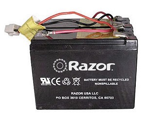 razor electric scooter bike and go kart battery packs mx500 battery wiring harness
