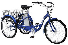 Bikes 3 Wheel Wheel Electric Bicycle