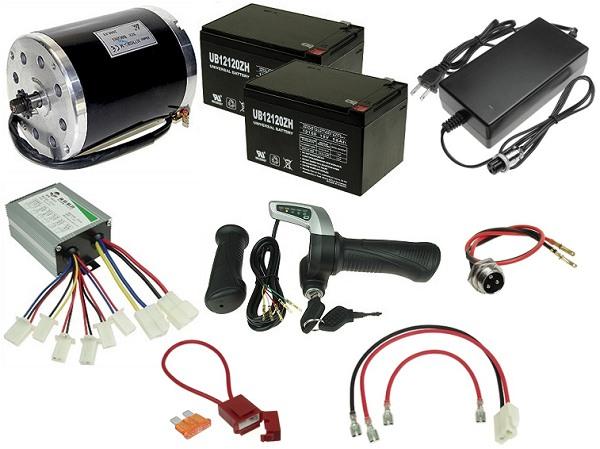 24 Volt 500 Watt Electric Scooter Kit Kit 130