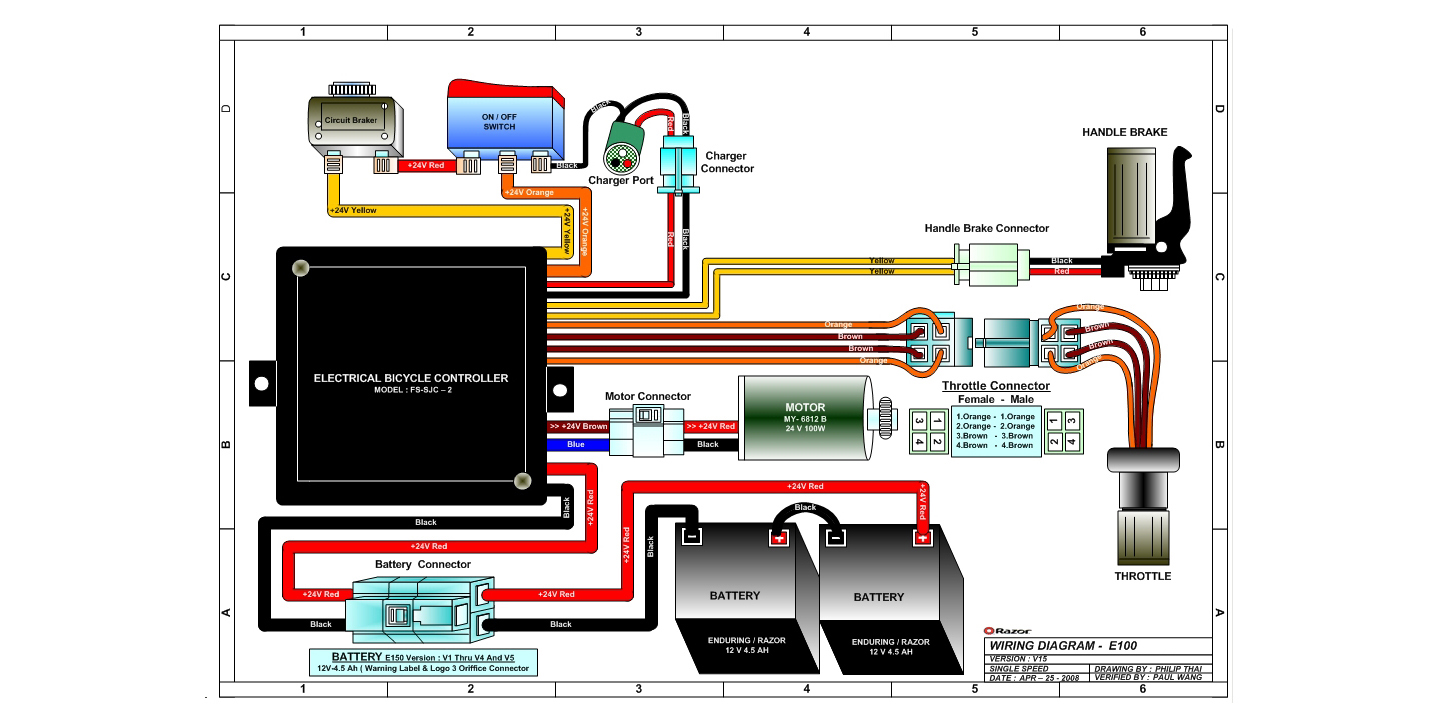 taotao electric scooter wiring diagram images scooter wiring electric scooter wiring diagram razor diagram