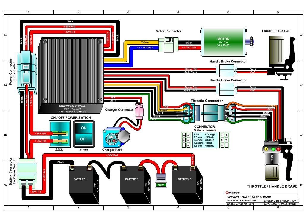 Maxresdefault also Pocket Mod V V Wiring Diagram moreover Razor E Wiring Diagram as well E V Up Wiring Diagram in addition Razor Mx Wiring Diagram V. on razor electric scooter wiring diagram