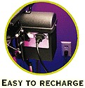 easy to recharge