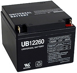 12 Volt 26 Ah Electric Scooter Battery