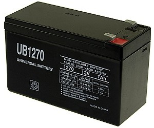12 Volt 7Ah Electric Scooter Battery