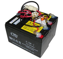 E200 BATTERY1 razor electric scooter, bike, and go kart battery packs wiring harness for scooters at webbmarketing.co