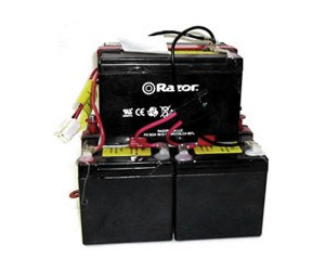 razor electric scooter bike and go kart battery packs battery pack wiring harness for all versions of the razor® mx500 and mx650 dirt rocket electric dirt bikes