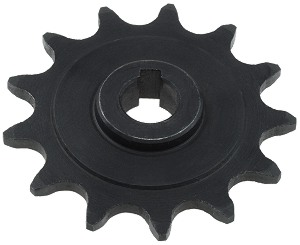 13 Tooth 11mm Bore Sprocket For 1 2 X 8 Bicycle Chain Motor My1016z My1016z3 And My1018z Gear Motors 3 57mm Od Id