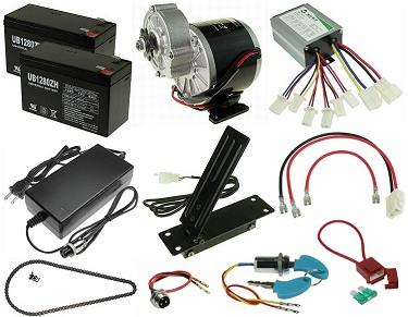 24 Volt Electric Go Kart Conversion Kits