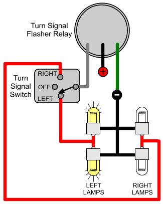 turn signal flasher relay wiring diagram  telephone wiring